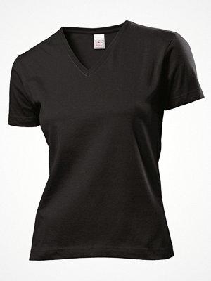 Stedman Classic V-Neck Women T-shirt Black