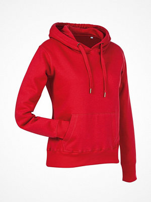 Stedman Active Sweat Hoody For Women Red
