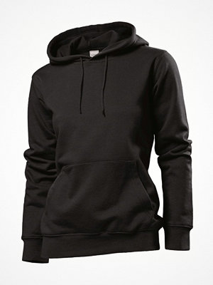 Stedman Sweatshirt Hooded Women Black