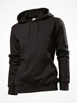 Stedman Sweatshirt Hooded Women Black