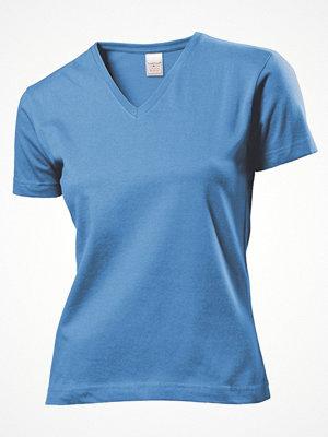 Stedman Classic V-Neck Women T-shirt Lightblue