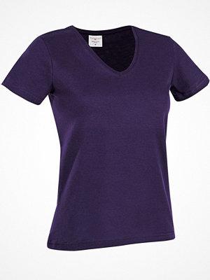 Stedman Classic V-Neck Women T-shirt Lilac