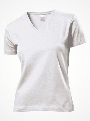 Stedman Classic V-Neck Women T-shirt White