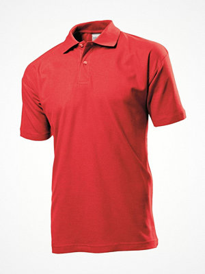 T-shirts - Stedman Polo Men Red