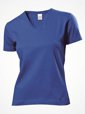 Stedman Classic V-Neck Women T-shirt Royalblue