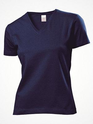 Stedman Classic V-Neck Women T-shirt Navy-2
