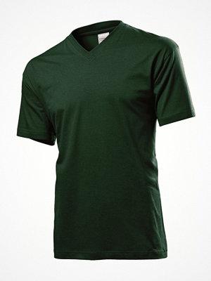 Stedman Classic V-Neck Men T-shirt Green