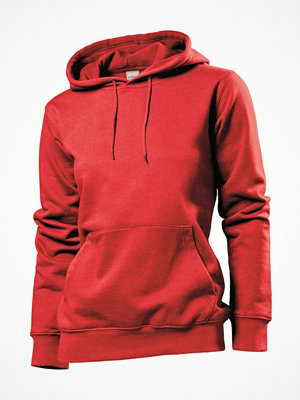 Stedman Sweatshirt Hooded Women Red