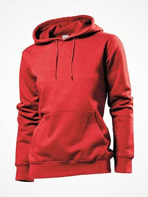Stedman Sweatshirt Hooded Women Red