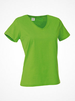 Stedman Classic V-Neck Women T-shirt Light green