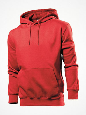 Stedman Sweatshirt Hooded Men Red