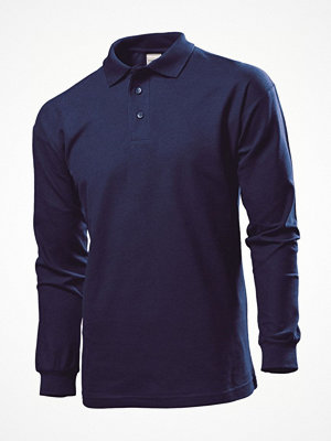 T-shirts - Stedman Polo Long Sleeve Men Navy-2