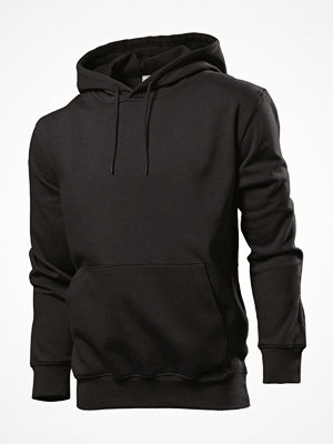 Stedman Sweatshirt Hooded Men Black