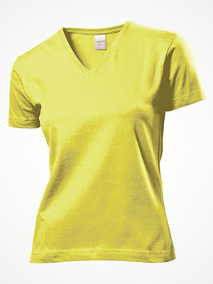 Stedman Classic V-Neck Women T-shirt Yellow