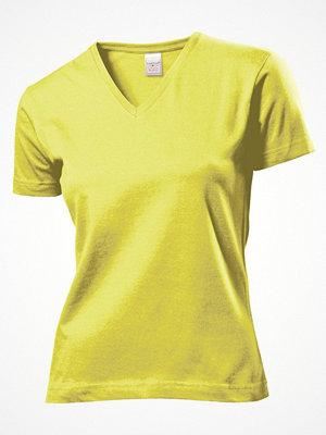 Stedman Classic V-Neck Women T-shirt Yellow