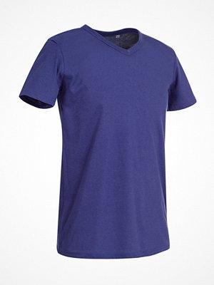 Stedman Ben V-neck For Men  Deep purple