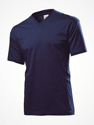 Stedman Classic V-Neck Men T-shirt Navy-2