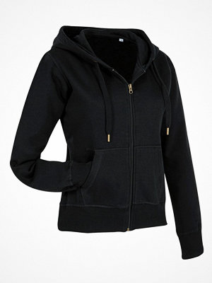 Pyjamas & myskläder - Stedman Active Hooded Sweatjacket For Women Black