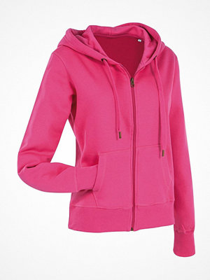 Pyjamas & myskläder - Stedman Active Hooded Sweatjacket For Women Pink