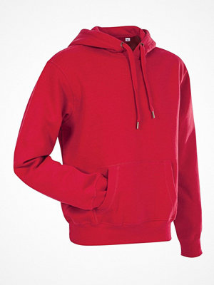 Stedman Active Sweat Hoody For Men Red