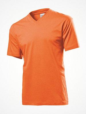 Stedman Classic V-Neck Men T-shirt Orange