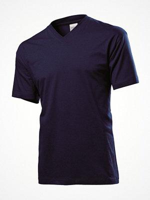 Stedman Classic V-Neck Men T-shirt Darkblue