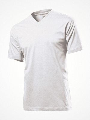 Stedman Classic V-Neck Men T-shirt White