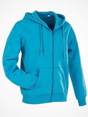 Stedman Active Hooded Sweatjacket For Men Blue