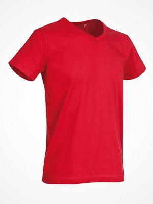 Stedman Ben V-neck For Men  Red