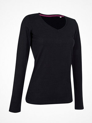 Pyjamas & myskläder - Stedman Claire V-neck Long Sleeve Black