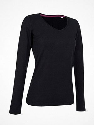 Stedman Claire V-neck Long Sleeve Black