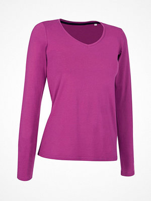 Stedman Claire V-neck Long Sleeve Pink