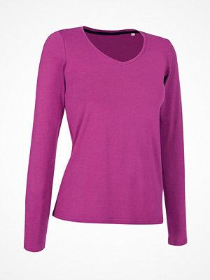 Stedman Claire V-neck Long Sleeve Pink