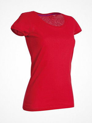 Stedman Megan Crew Neck Red