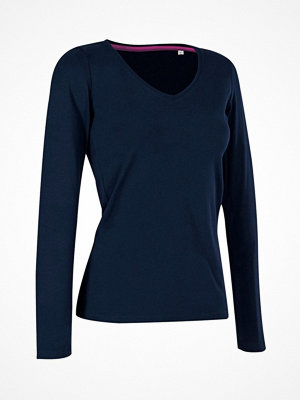 Stedman Claire V-neck Long Sleeve Navy-2