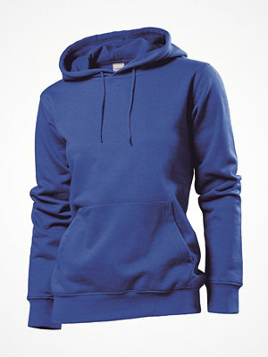 Pyjamas & myskläder - Stedman Sweatshirt Hooded Women Royalblue