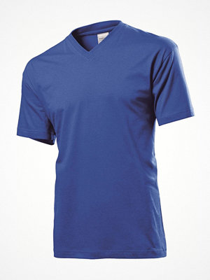 Stedman Classic V-Neck Men T-shirt Royalblue