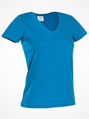 Stedman Classic V-Neck Women T-shirt Blue