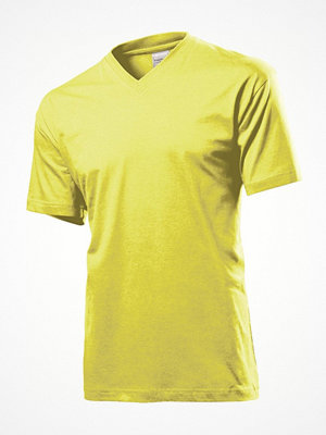 Stedman Classic V-Neck Men T-shirt Yellow