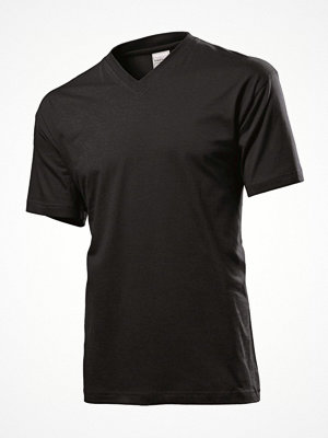 Stedman Classic V-Neck Men T-shirt Black
