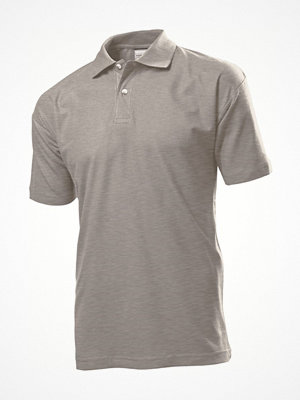 Stedman Polo Men Greymarl