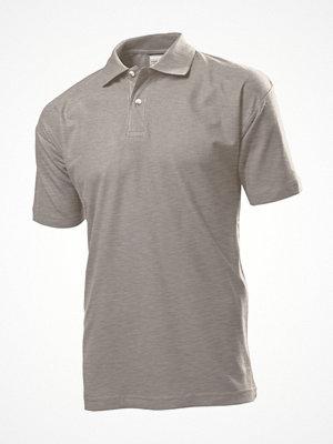 T-shirts - Stedman Polo Men Greymarl