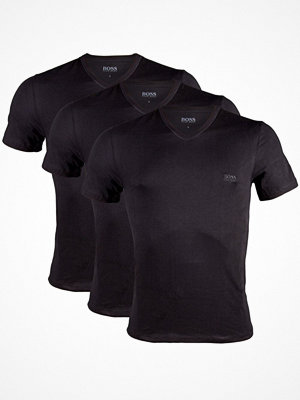 Hugo Boss 3-pack Classic V-Neck T-shirt Black