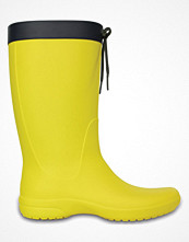 Crocs Women Freesail Rain Boot Yellow