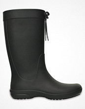 Crocs Women Freesail Rain Boot Black
