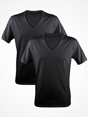Calvin Klein 2-pack Modern Cotton Stretch V-neck Black