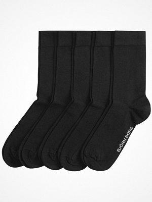 Björn Borg 5-pack Solid Ankle Socks Black