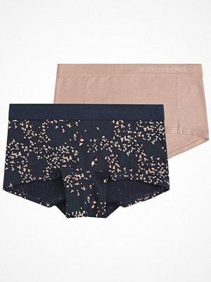Björn Borg 2-pack Petals Mini Shorts Blue/Pink