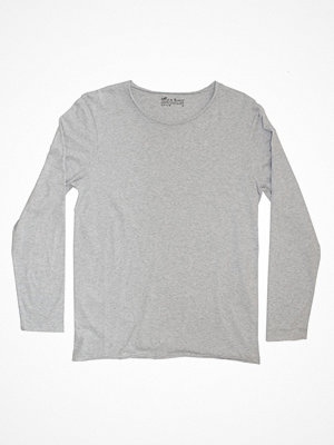 Bread and Boxers Long Sleeve Relaxed  Grey