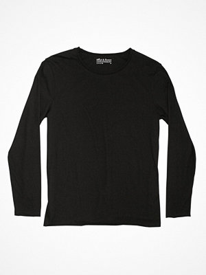 Bread and Boxers Long Sleeve Relaxed  Black